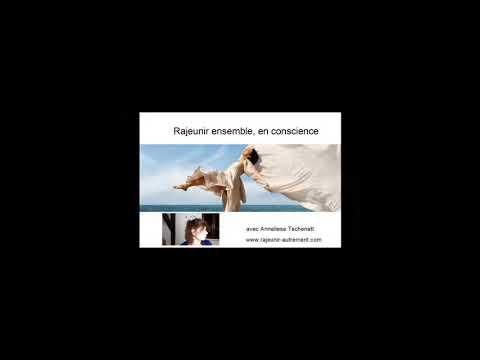 Rajeunir autrement - décembre 2020 - channeling avec Ana Maria