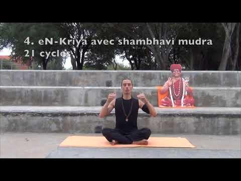 Technique de méditation en kriya - explications en francais